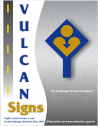 Vulcan Signs Catalog of Sign Products